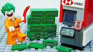 Lego Joker Prison Break Santa Claus Caught by Police