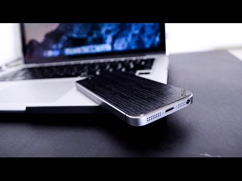 Carved Real Wood Skin for iPhone Review!