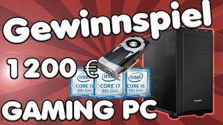 1200 EURO GAMING PC GEWINNSPIEL | Gewinne einen Coffee Lake Gaming PC (Kreative Fragen 4)