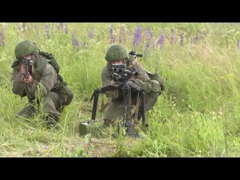 Эпизод масштабного учения с подразделениями ВДВ на Северо Западе России