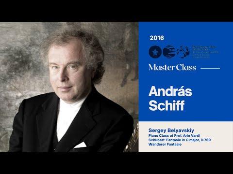 Sir András Schiff Piano Master Class 2016 - Sergey Belyavskiy