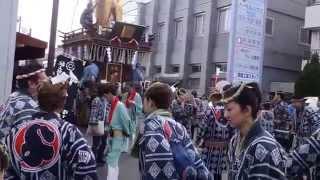 佐原の大祭 秋祭り2014 山車巡行 仁徳天皇〔南横宿〕