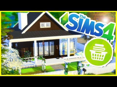 Laundry Stuff Pack Build | The Sims 4 House Building