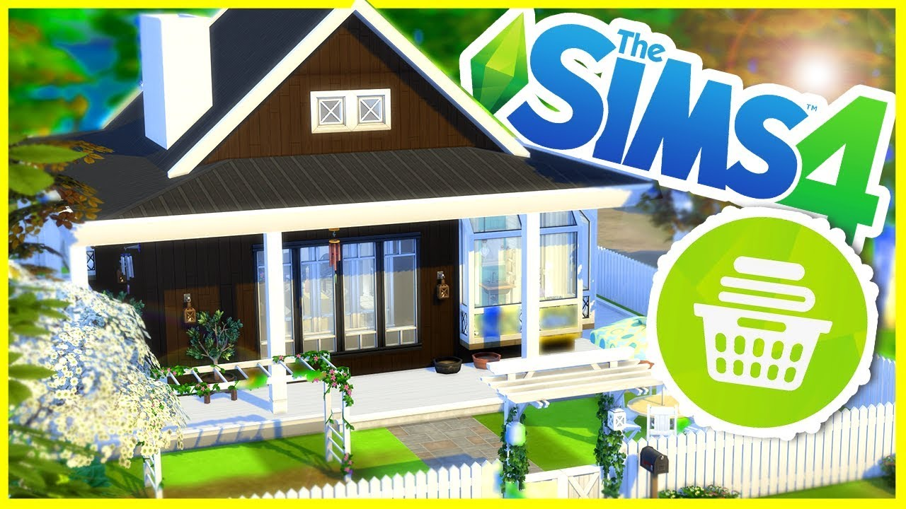 Laundry Stuff Pack Build | The Sims 4 House Building - YouTube