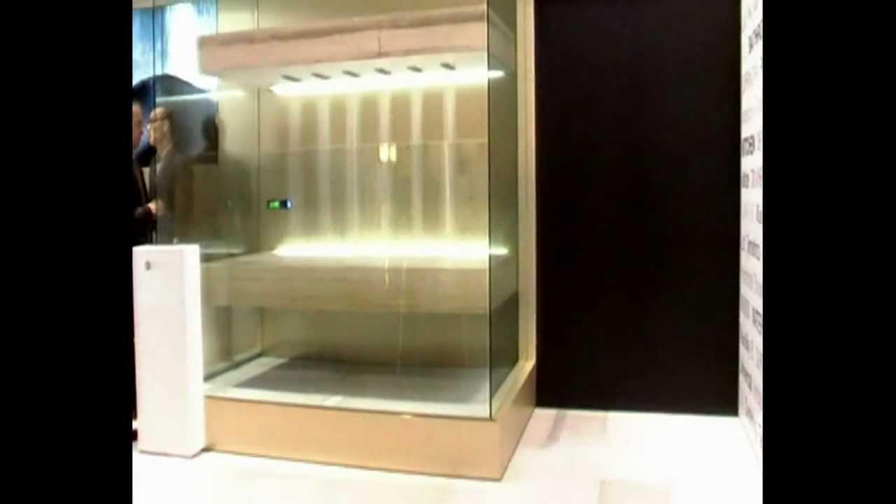 dornbracht horizontal shower ambiance tuning technique duschen im liegen youtube. Black Bedroom Furniture Sets. Home Design Ideas