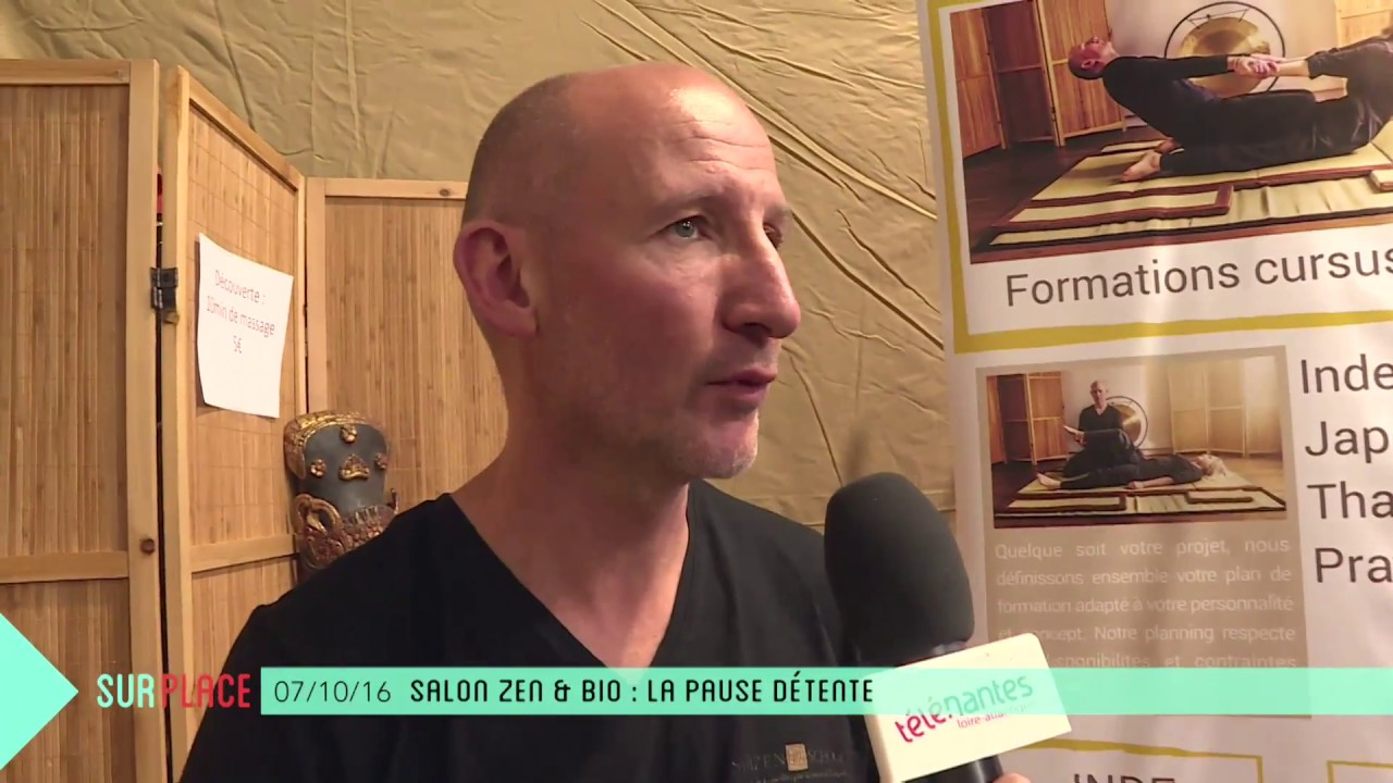 Salon De Massage Angers Interview Gérald Briouze Ecole De Massage Nantes Shizen School