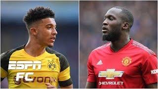 Romelu Lukaku targeted by Inter Milan? Jadon Sancho staying put at Dortmund? | Transfer Rater