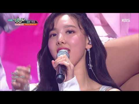 뮤직뱅크 Music Bank - SAY YES - TWICE(트와이스).20180413