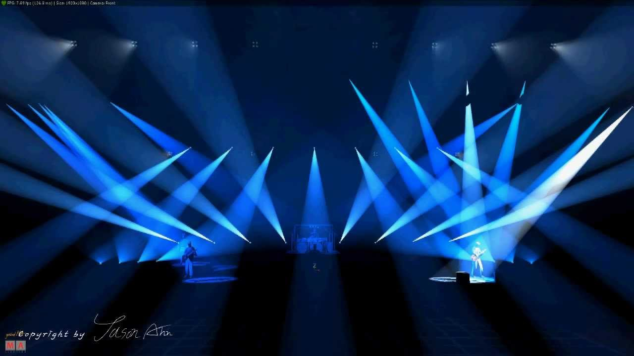 dream theater breaking all illusions lighting design by jason ahn