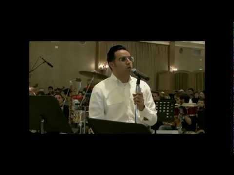 Yaakov Shwekey Concert Rehearsal