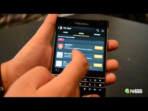 Amazon App Store on BlackBerry Passport