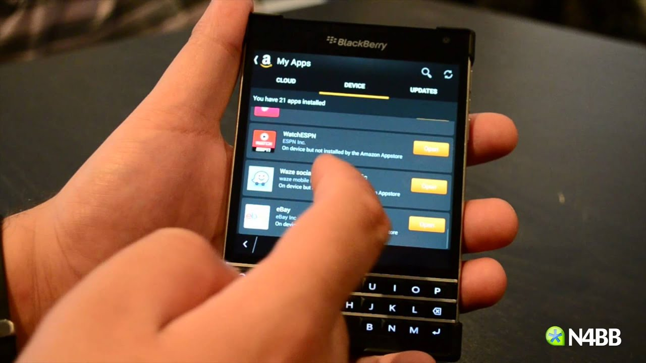 amazon app store for blackberry z3 free download