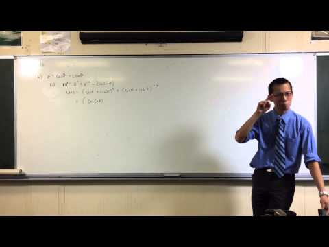 Using De Moivre's Theorem to Prove Trigonometric Identity