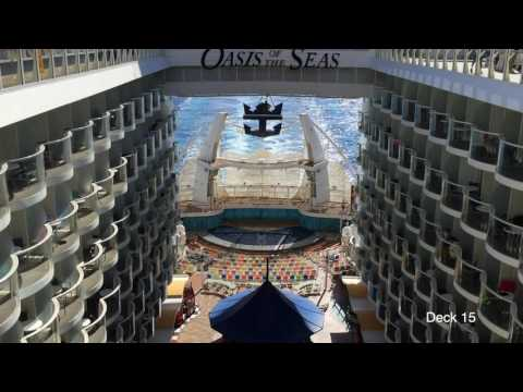 Tour of Royal Caribbean's Cruise Ship OASIS of The Seas Feb  2017 HD
