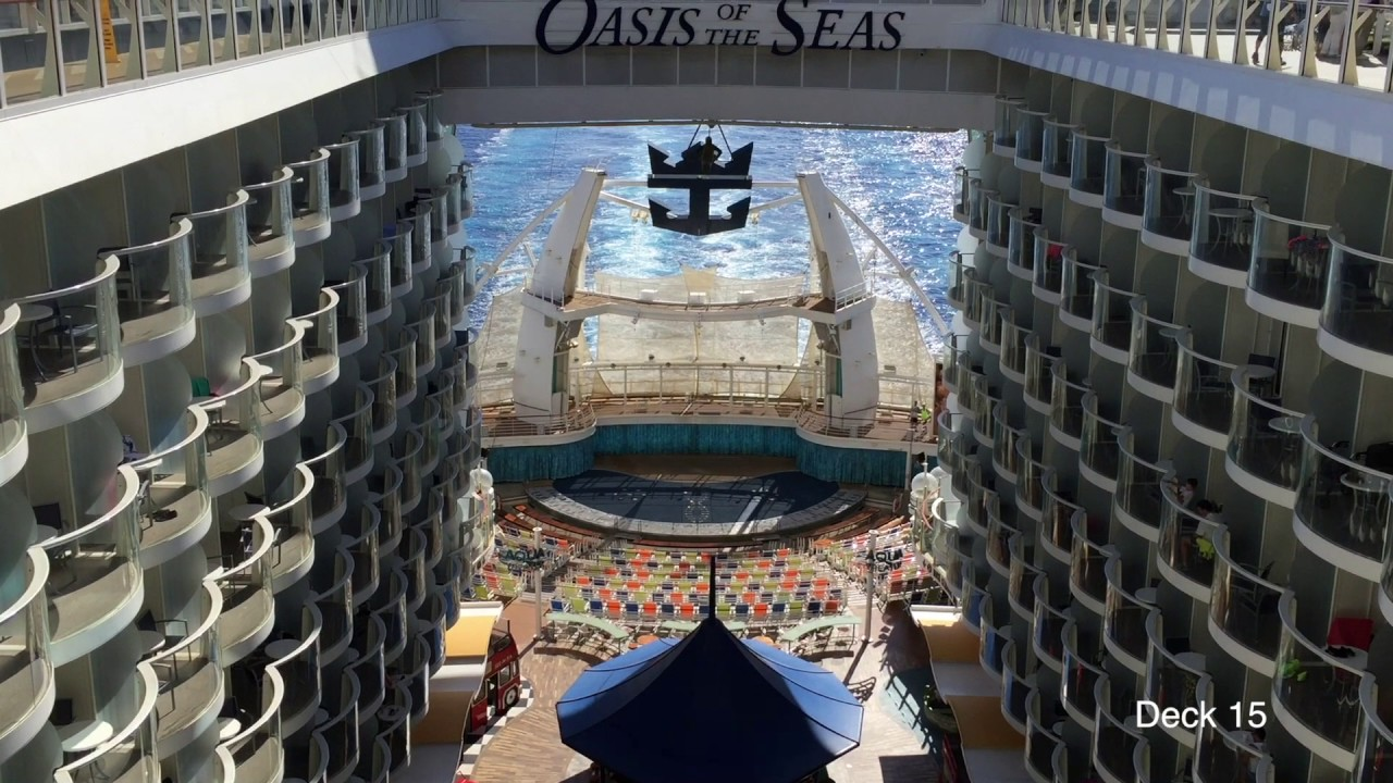 Oasis Of The Seas Video Tour