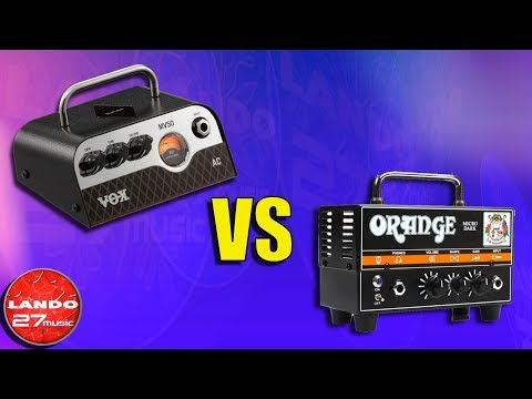 Vox MV50 AC vs Orange Micro Dark - Mini Amp Head Comparison