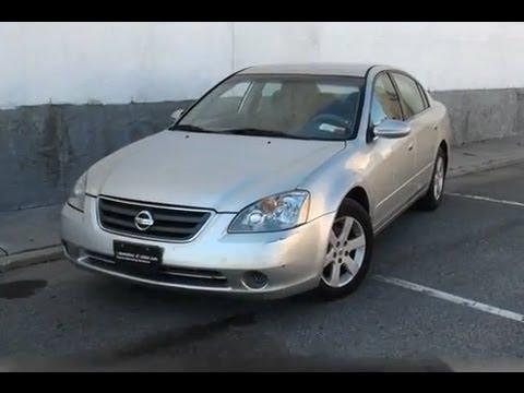 Nissan Altima 2 5s >> 2002 Nissan Altima 2.5S Sedan - YouTube