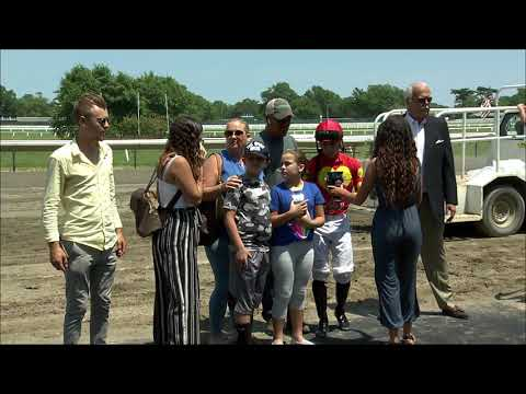 video thumbnail for MONMOUTH PARK 6-28-19 RACE 2