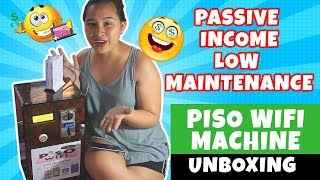 Piso Wifi Vendo Machine Unboxing 2019
