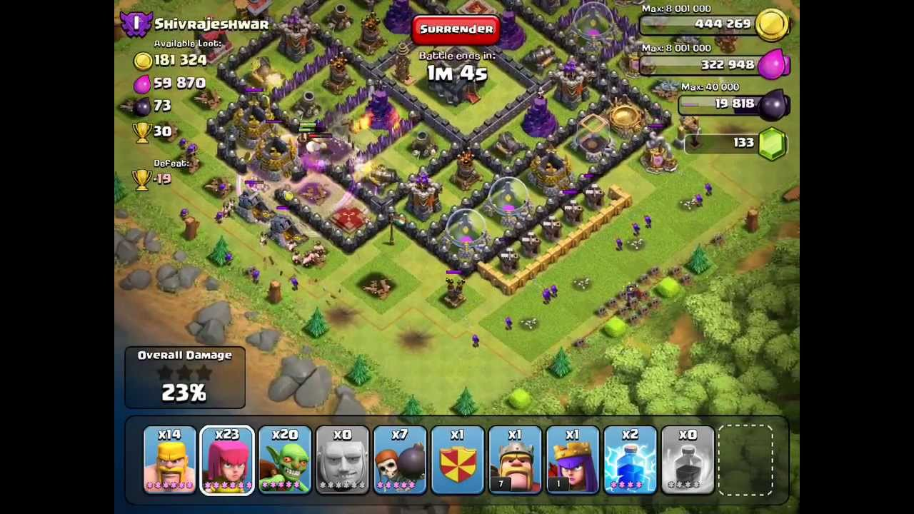 clash of clans how to get free trophies