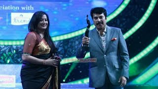 FILMFARE AWARD 2014 | Malayalam Best Actor | MAMMOOTTY | Varsham | Mammootty 12th Filmfare award