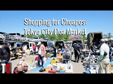 Shopping for Cheapos: Tokyo City Flea Market