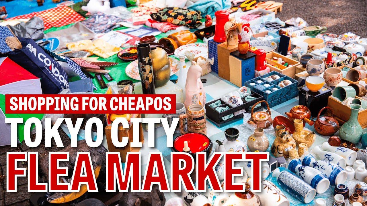 Shopping for Cheapos: Tokyo City Flea Market