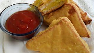 Simple Bread pakoda l Bread pakora iftar recipe
