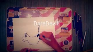 Daredevil Speed Drawing