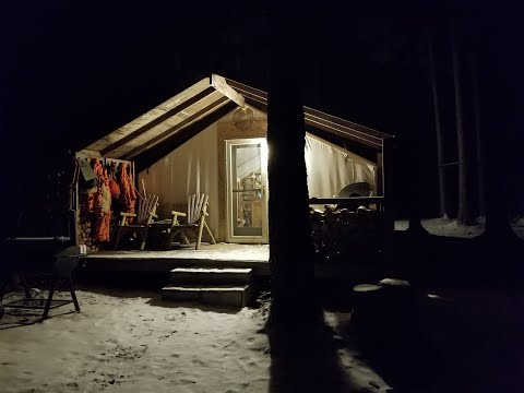 THE TENT. Deer Season 2019. Opening Weekend.