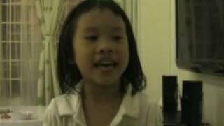 4yr old Malaysia Chinese girl sing Korea song대장금大长今.mp4