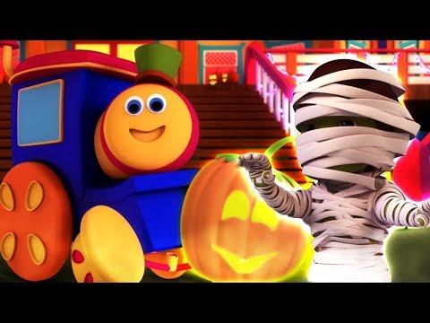 Familia De Halloween   Bob El Tren   Canciones De Halloween   Halloween Family   Kids Tv Español