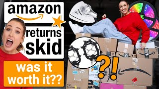 I Bought a $700 AMAZON RETURNS SKID - was it ACTUALLY worth it??