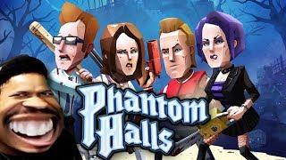 SOME COMEDIC HORROR FOR HALLOWEEN   Phantom Halls