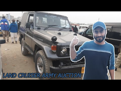 land-cruiser-army-auction-|-toyota-army-jeep-|-sunday-car-market