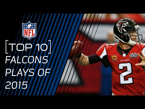 Top 10 Falcons Plays of 2015 | #TopTenTuesdays | NFL
