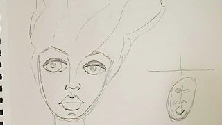 How to-Draw my big haired girl