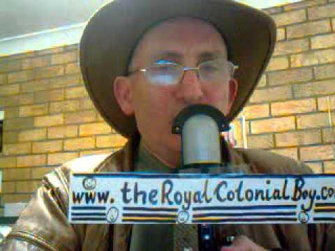 """The Royal Colonial Boy Poem"" read by Lord Reagan 29 April, 2015"