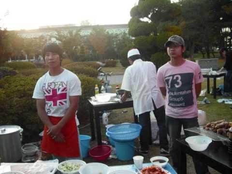 """DU HOC SINH VIET NAM BAN """" PHO"""" IN CHUNG CHEONG UNIVERSITY 06_10_2009"""