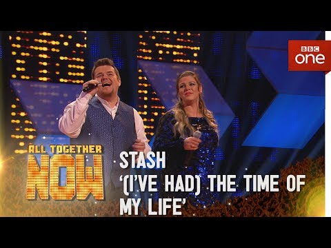 Stash perform '(I've Had) The Time Of My Life' by Bill Medley & Jennifer Warnes from Dirty Dancing