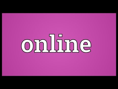 watch online definition of online by the free dictionary