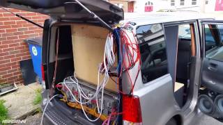Eman Bass Scion XB Ampere VS Taramps Clamp Test