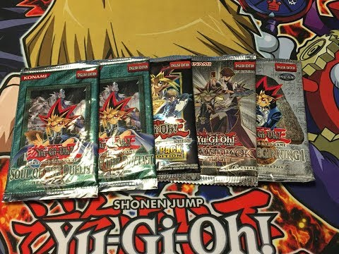Yu-Gi-Oh! Random Pack Opening SOD, MVP1, DPBC and DB1 Old School!!!