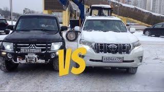 Toyota New PRADO vs Mitsubishi Pajero 4
