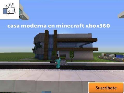 Full download construye una casa moderna 1 minecraft for Casa moderna minecraft xbox 360