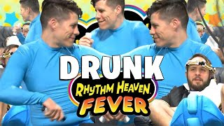 Rhythm and Booze - Drunk Rhythm Heaven Fever Funny Moments