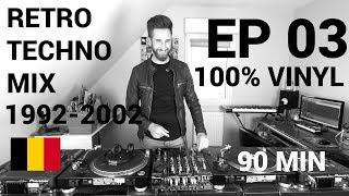 Mix Vinyl Retro Techno Belgium ,LAGOA, Cherry Moon, Captain, H2O - 92-2002 - Ep 3