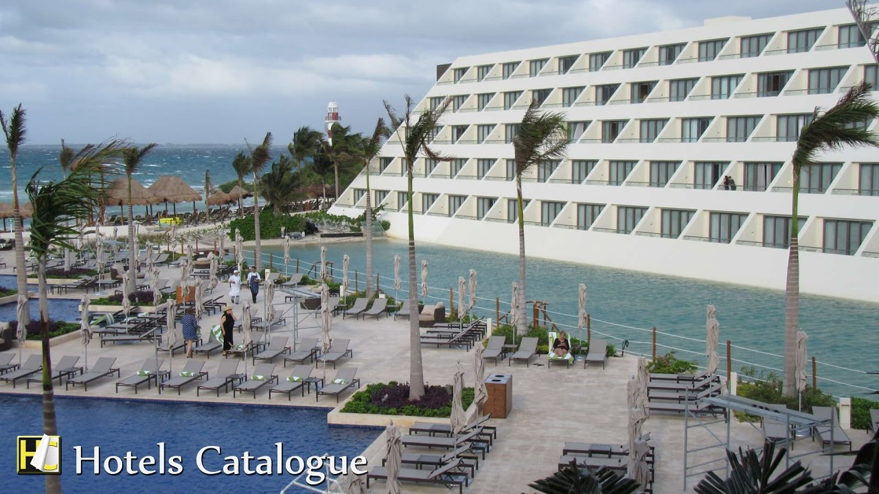 Camino Real Resort Cancun Hyatt Ziva Cancun All Inclusive Family Resort Hotel Tour