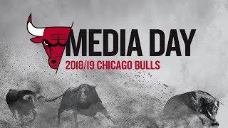 2018-19 Bulls Media Day Press Conferences