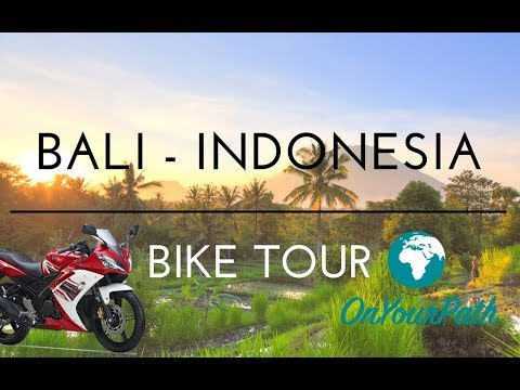 Bali Motorbike Tour 🇮🇩 Attractions & Sightseeing Tour 🏯